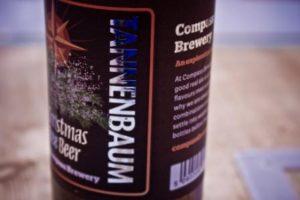 compass brewery tannenbaum beer