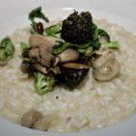 Broccoli and Mushroom Risotto