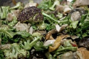 Broccoli and Mushroom mix