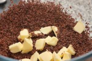 Making Sloe Truffles