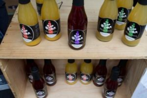 petersfield food festival 2012 - local juices