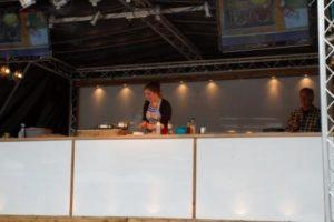 petersfield food festival 2012 - on stage