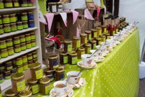petersfield food festival 2012 - chutney stall