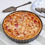 Heritage Cherry Tart - baked