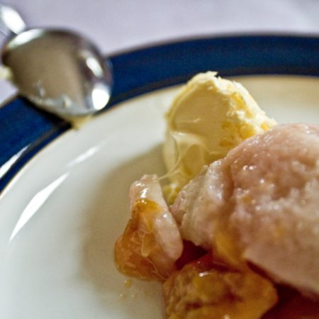 Plummer Pudding - with clotted cream