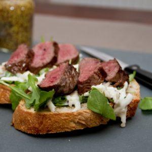 Celeriac remoulade venison sandwich - All That I'm Eating