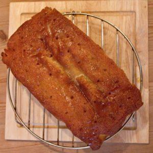 Orange and caraway cake