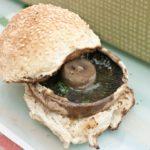 Autumn Picnic - Garlic Mushroom Burgers
