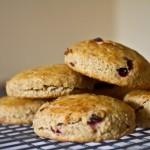 elderberry and einkorn scones