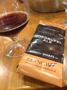 Sharp's Connoisseurs Quadrupel Ale with Dark Chocolate