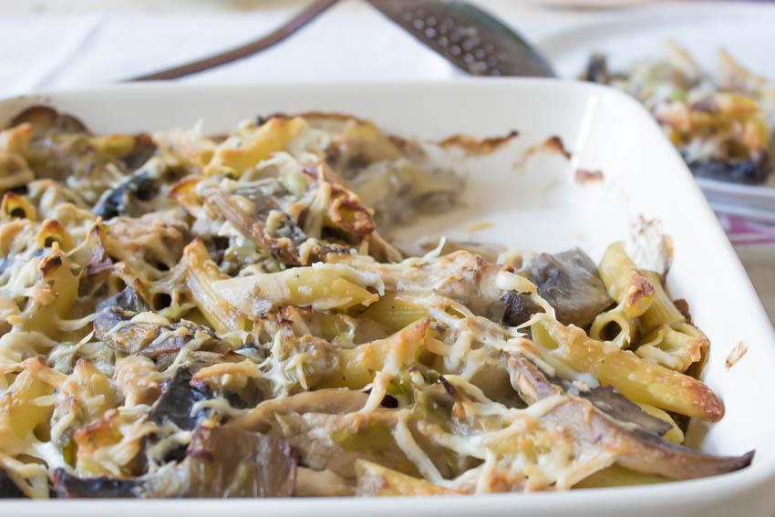 Recipe mushroom and bacon pasta
