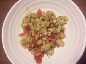 Part Time Vegetarian Book - Chimichurri Gnocchi