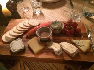 The Maytime Inn Cheese board