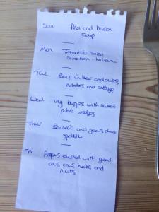 Meal Planning Ideas September