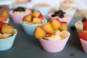 Mini Cheesecake Mess - caramelised apple