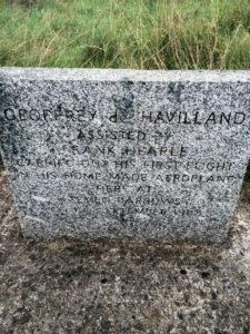 An Adventure Just Outside the Back Door - Geoffrey de Havilland memorial
