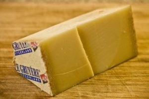 Gruyere for the soup