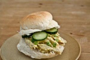 Coronation Chicken sandwich