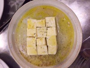 morlacco and tofu