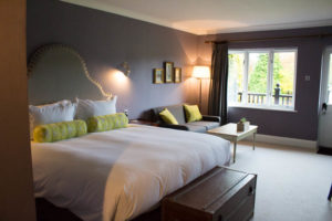 Garden suite at burley manor