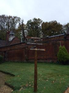 Burley manor grounds