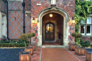 Burley Manor entrance