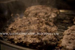 griddled venison burgers