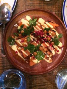 No 5 Bridge Street charred sweet potato