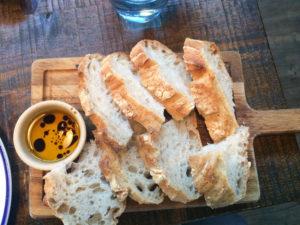 No 5 Bridge Street bread board and oil