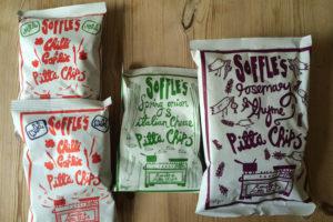 soffles pitta chips - little treats