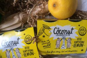 lemon coconut pots - little treats