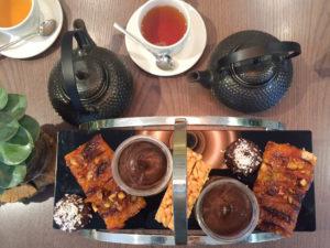 vegan afternoon tea desserts