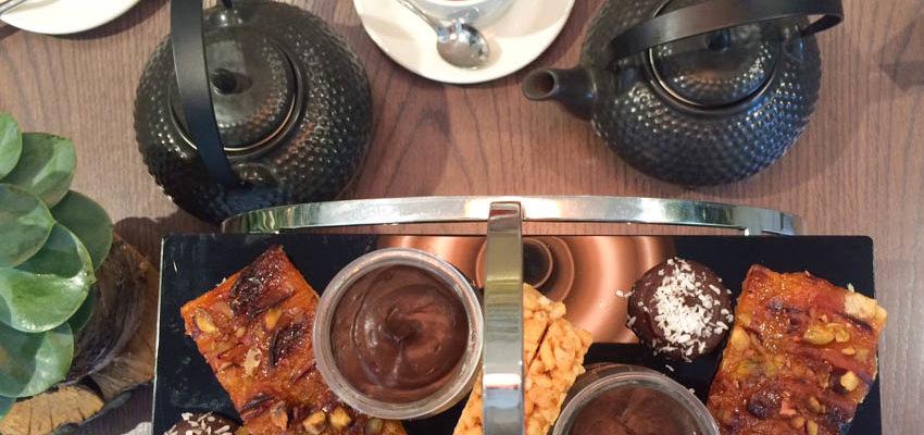 Vegan Afternoon Tea at Careys Manor Hotel