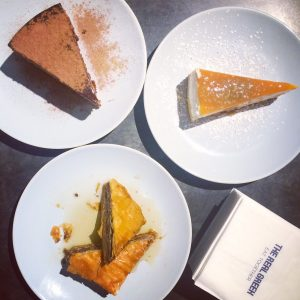 The Real GReek dessert trio - after Insta editing
