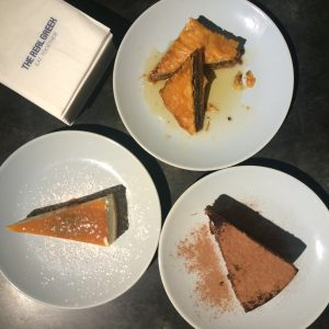 The real greek desserts before editing