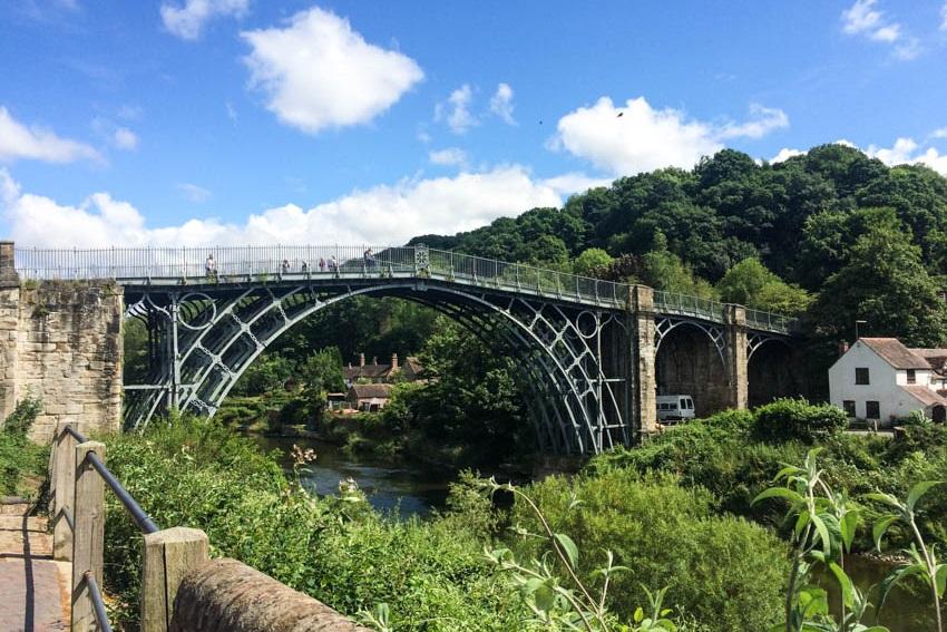 Ironbridge over The Gorge
