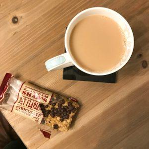 yorkshire flapjack and tea