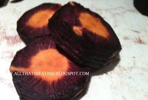 inside purple carrots