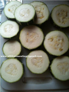 sliced marrow