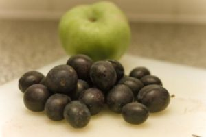 bramley apple and damsons