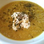 delicate carrot soup