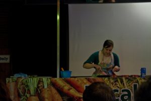 All That I'm Eating, Caroline Taylor, cookery demo