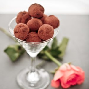Leftover Sloe Chocolate Truffles