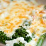 Quick Broccoli Cheese - close up