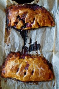 Elderberry and Apple Turnover