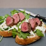 Celeriac remoulade venison sandwich - All That I'm Eating