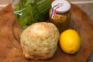Celeriac remoulade venison sandwich ingredients - All That I'm Eating