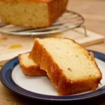 Orange and caraway cake - sliced