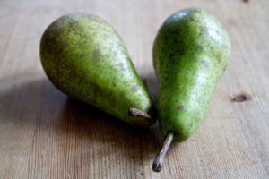 Pears for poaching