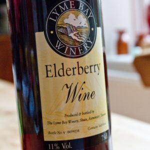 Elderberry Wine for poaching pears